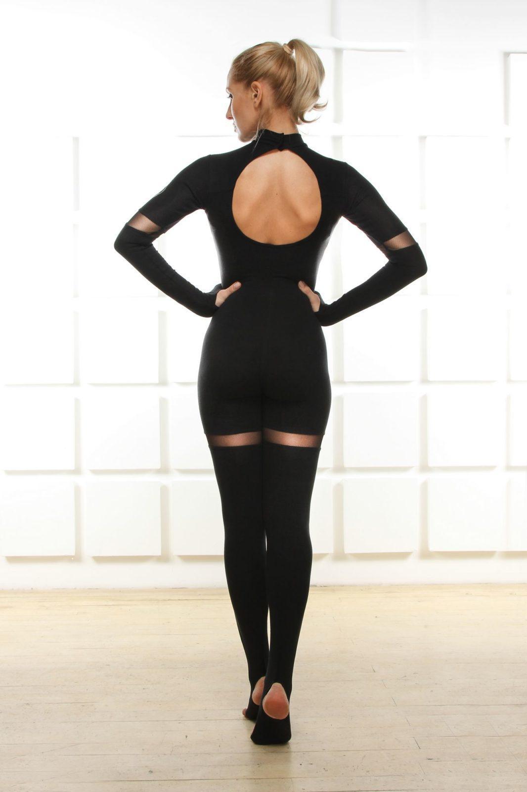 Фото 1 Комбинезон черного цвета Лалит