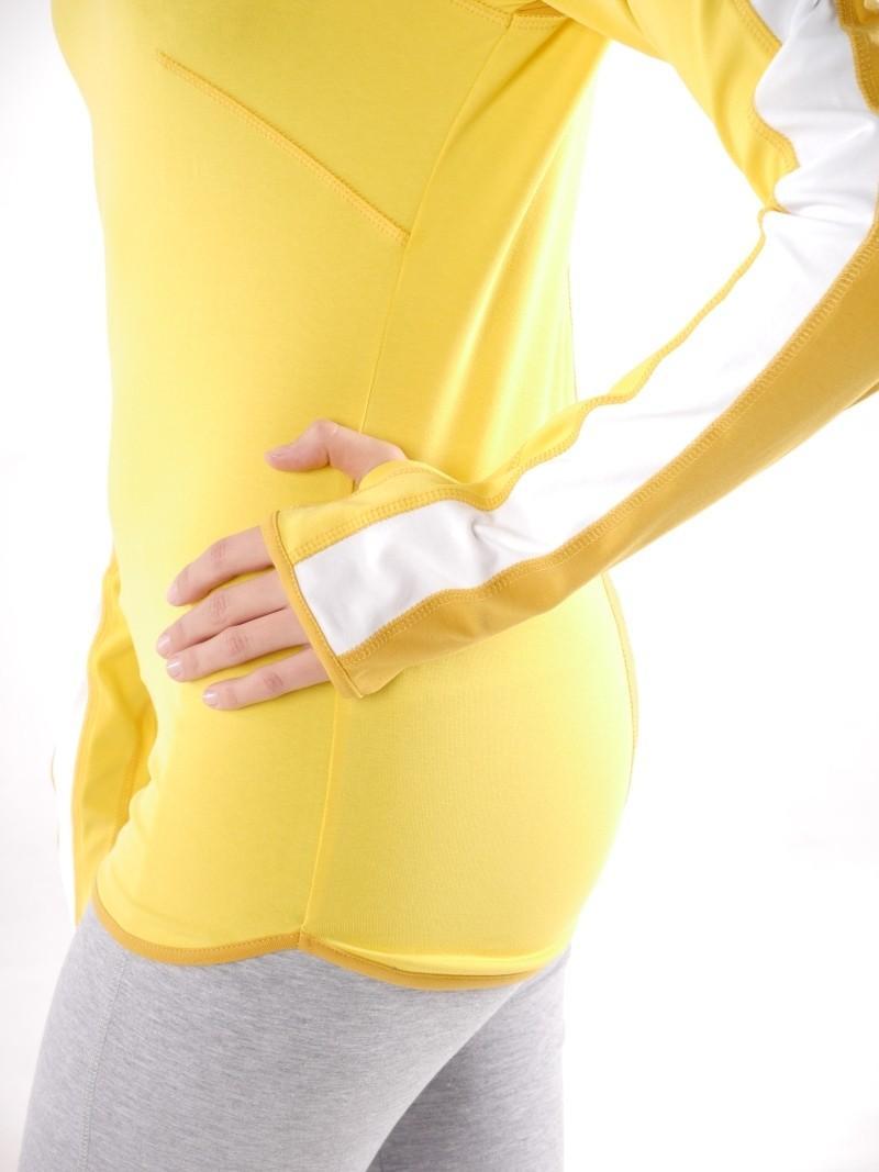 Фото 3 Женская футболка для йоги и фитнеса с длинным рукавом Трай