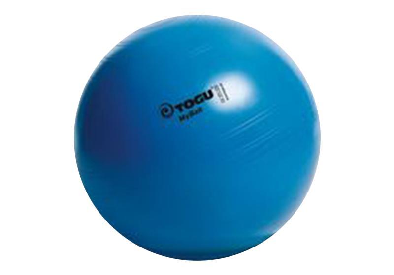 Фото Синий мяч для йоги и фитнеса My Ball