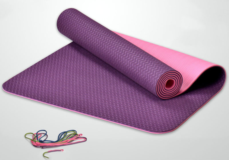 Фото Коврик для йоги Легкий драйв