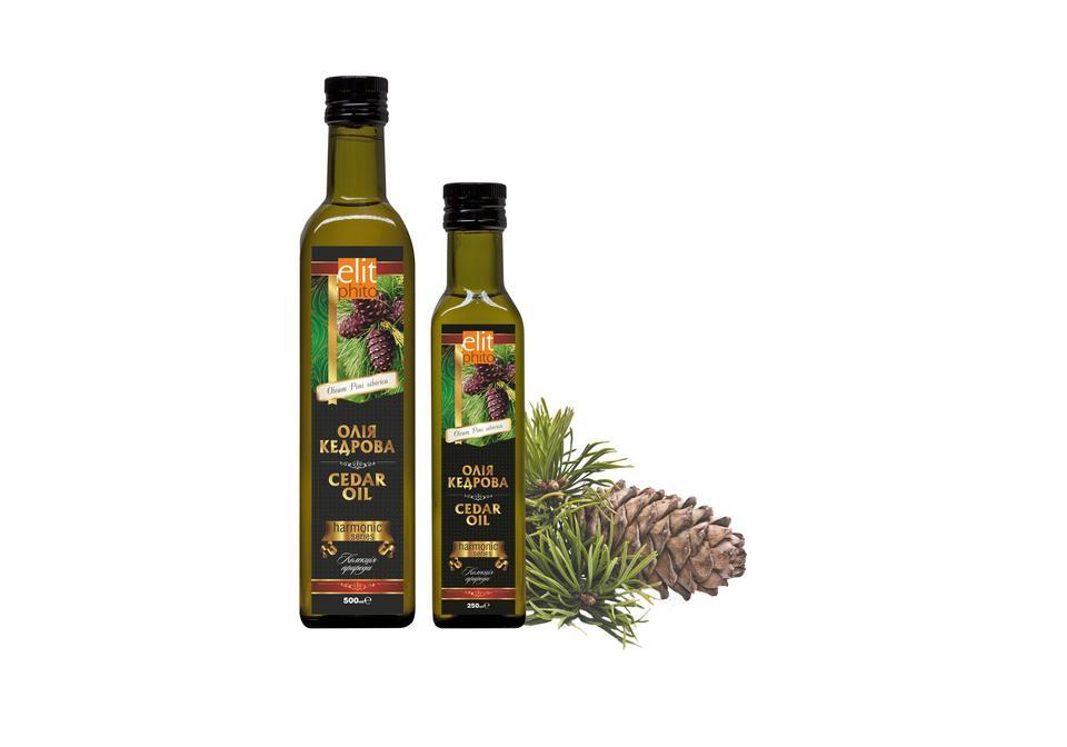 Фото Кедровое масло для вашего здоровья 50 мл