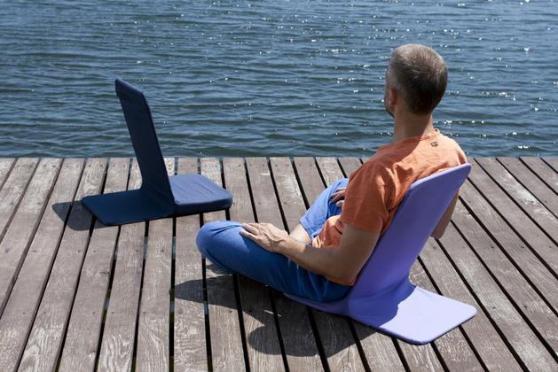 Фото 3 Кресло для медитации и отдыха на природе