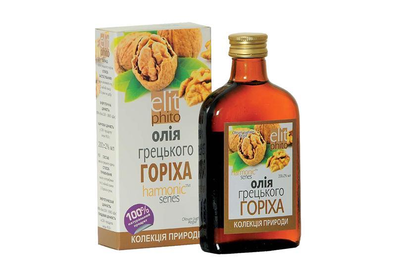 Фото 1 Масло грецкого ореха польза для волос и лица 100 мл