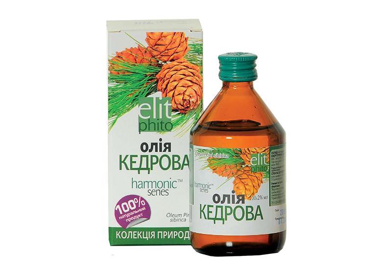 Фото 1 Кедровое масло для вашего здоровья 50 мл