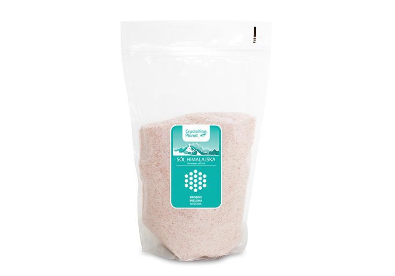 Фото Гималайская розовая крупнозернистая соль (1 кг)