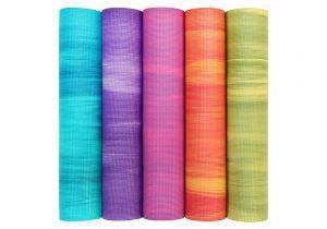 Коврики для йоги Ganges яркие 183x60x0.6 см
