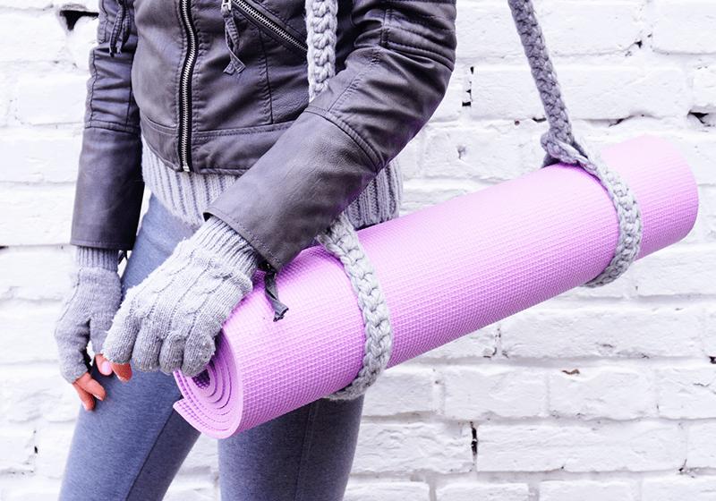 Фото 3 Универсальный ремень Foyo для йога коврика