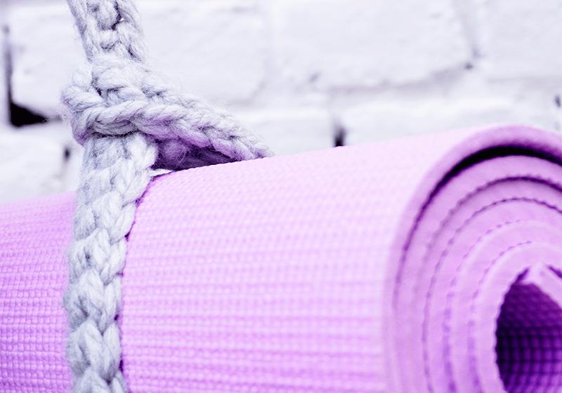Фото 2 Универсальный ремень Foyo для йога коврика