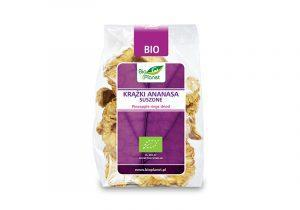 Кольца сушеного ананаса 100 г от Bio Planet