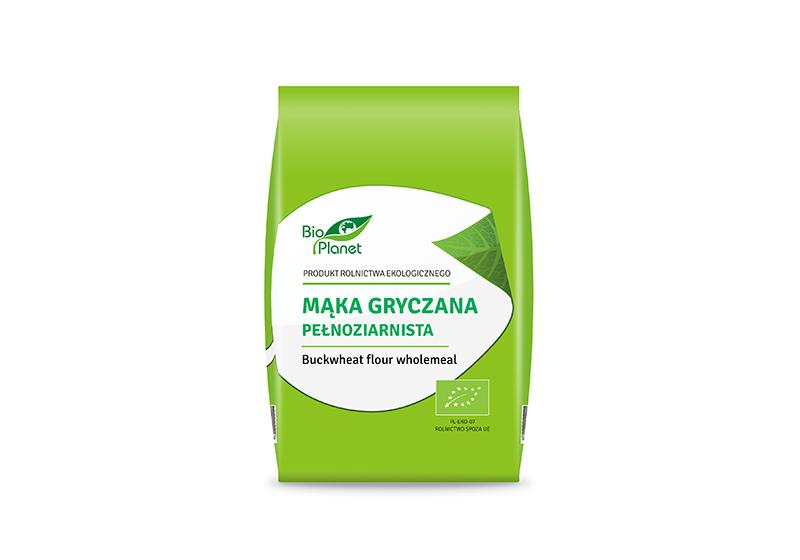 Фото Гречневая мука (из зеленой гречки)