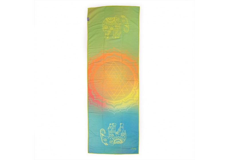 Фото Йога-полотенце из микрофибры Elephant Dreams