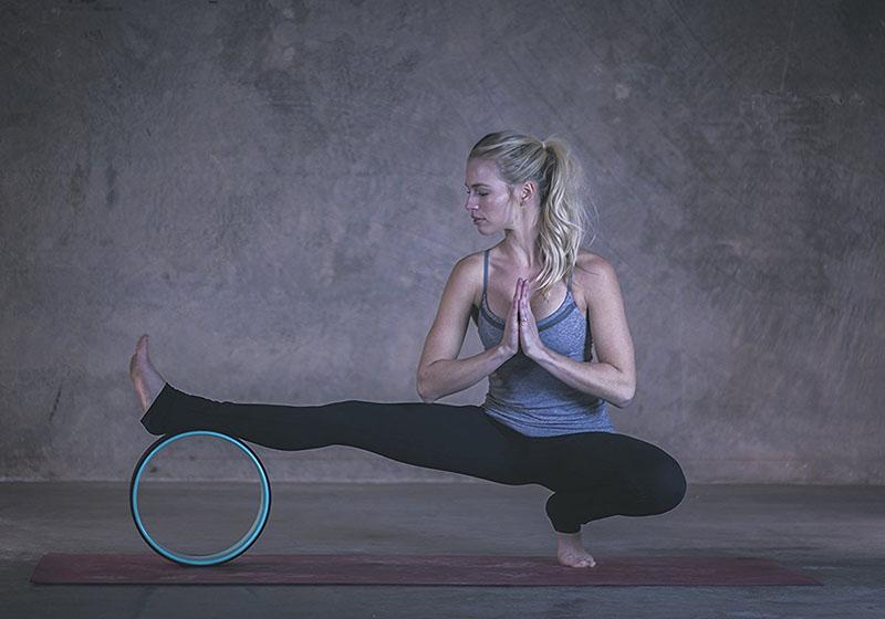Фото 1 Колесо для йоги, 23 см