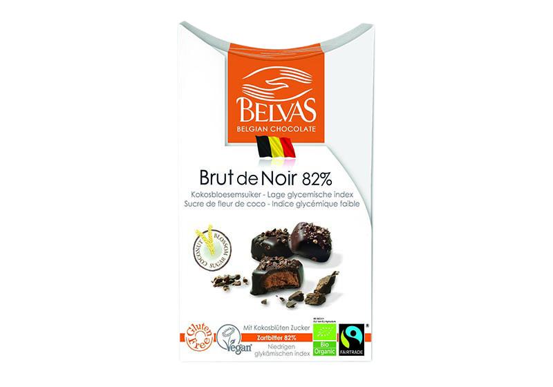 Фото Конфеты из черного шоколада 82%