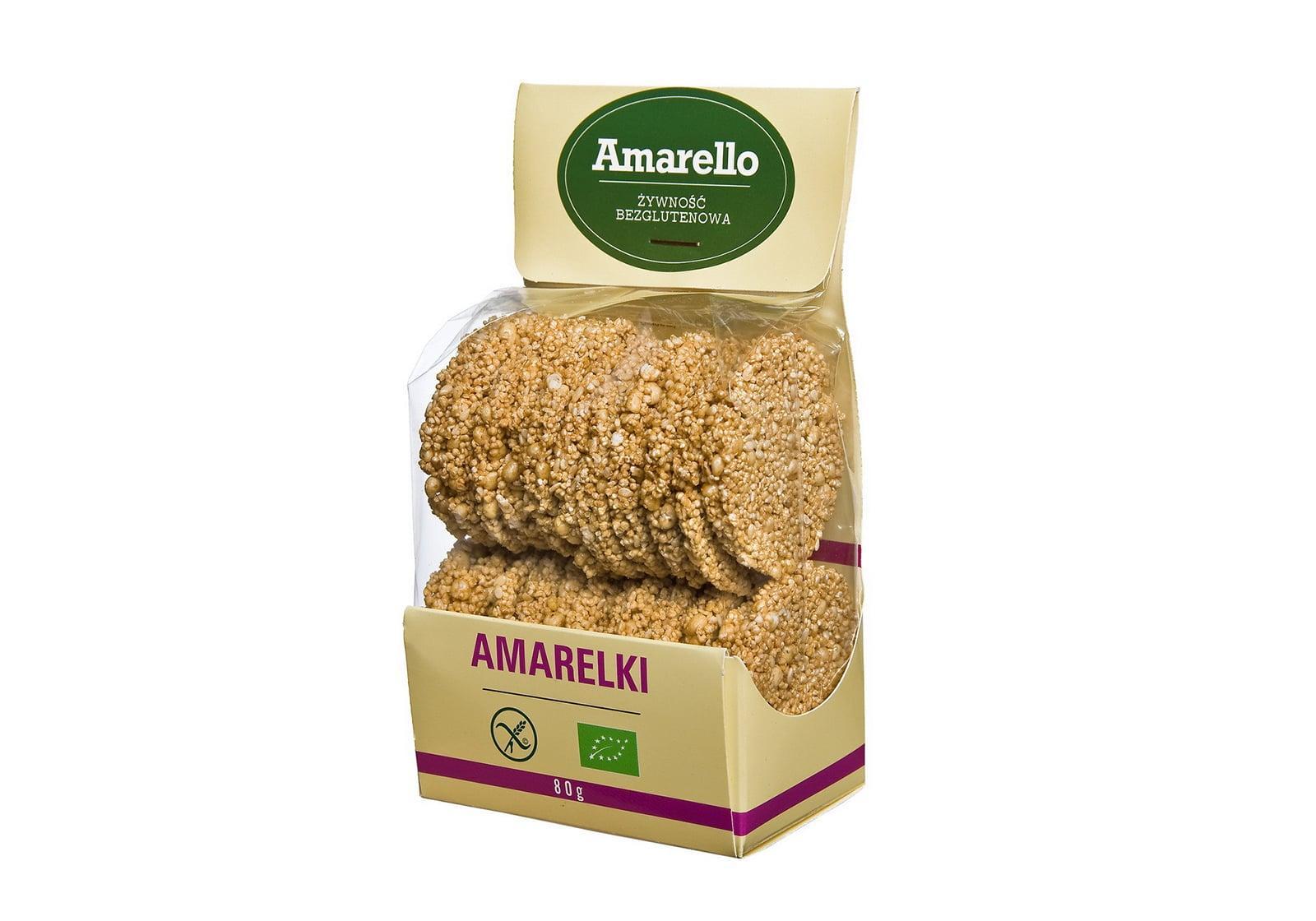 Фото Безглютеновые сладкие амарантовые хлебцы