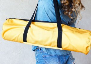 Желтый чехол-сумка Sun B Foyo для коврика