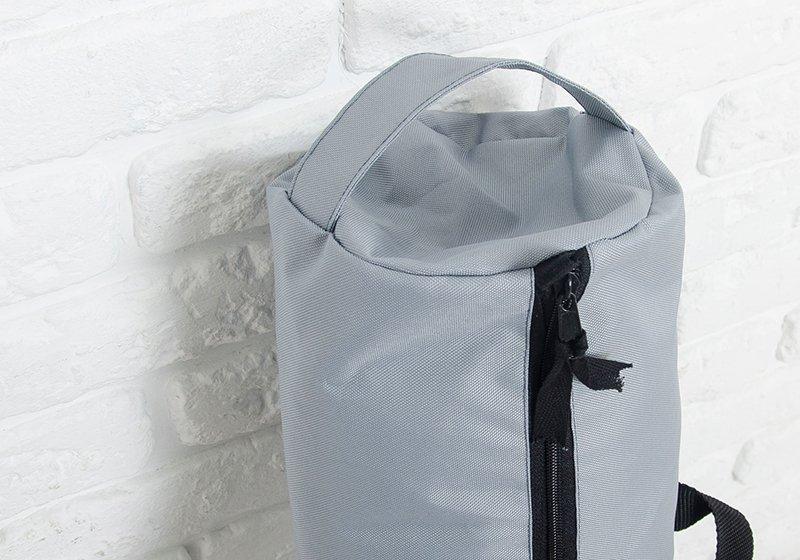 Фото 1 Серая сумка для йога-коврика Silver Foyo