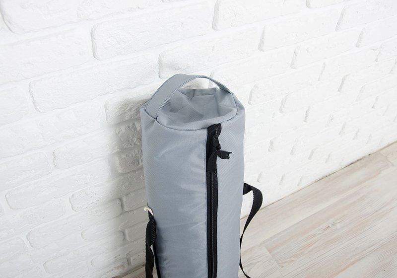 Фото 2 Серая сумка для йога-коврика Silver Foyo