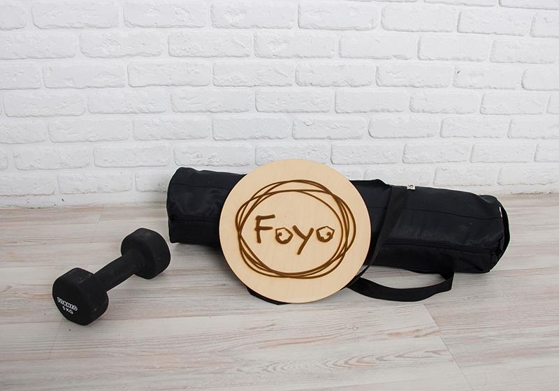 Фото Сумка-чехол Foyo для йога мата черная