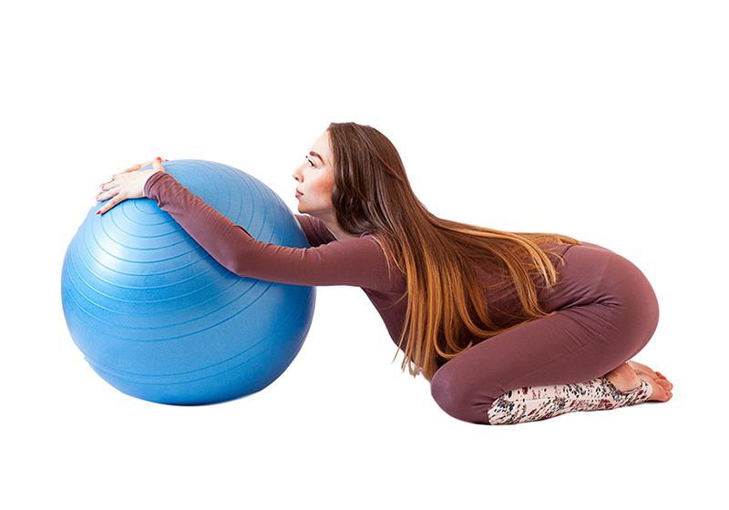 Фото 6 Невзрывающийся мяч для йоги и фитнеса
