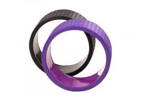 Фиолетовое колесо Samsara Premium для йоги от Bodhi