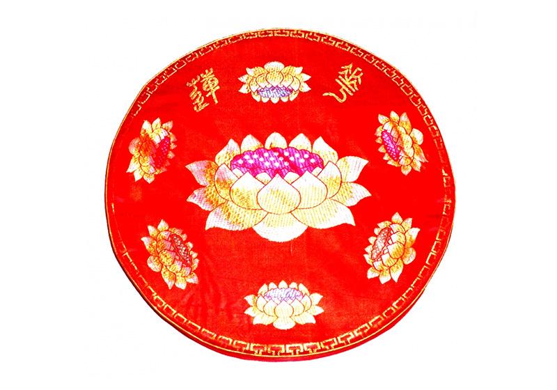 Фото Подушка для медитации малая красная