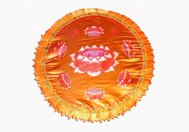 Фото Подушка для медитации большая с поролоном