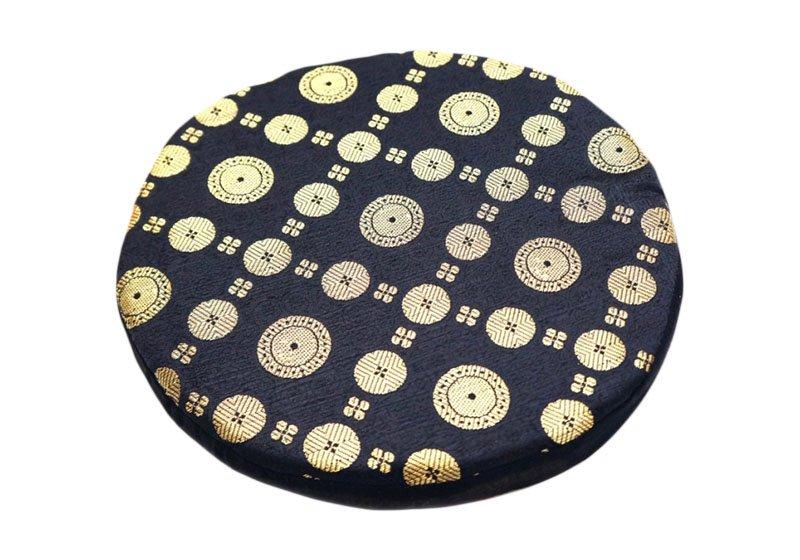 Фото Подушка под поющую чашу поролоновая 24 см. Черный цвет