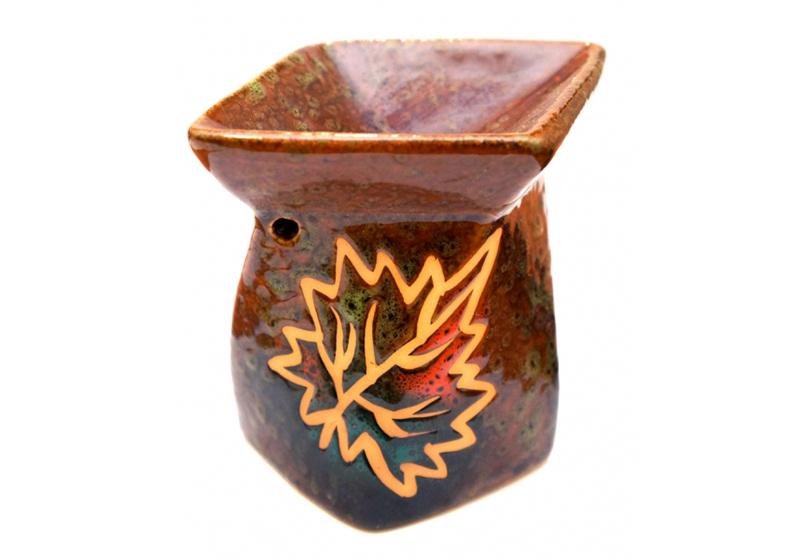 Фото Керамическая аромалампа Осень V-330, 10,5х9х12,5 см