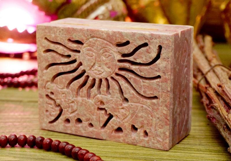 Фото 1 Каменная шкатулка для украшений