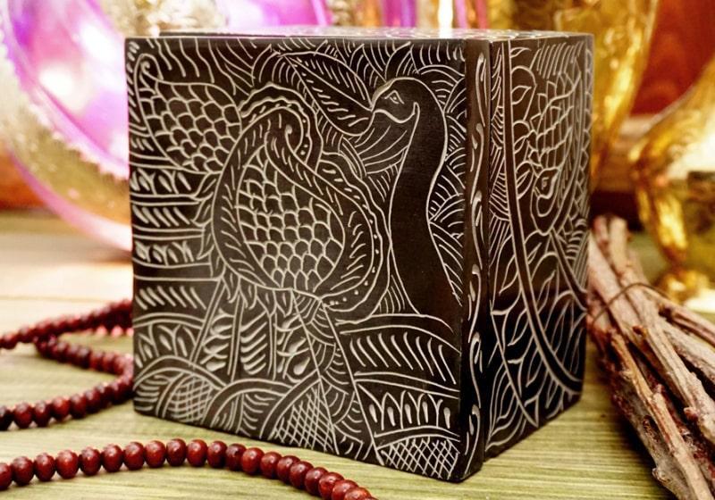 Фото 1 Шкатулка каменная в индийском стиле