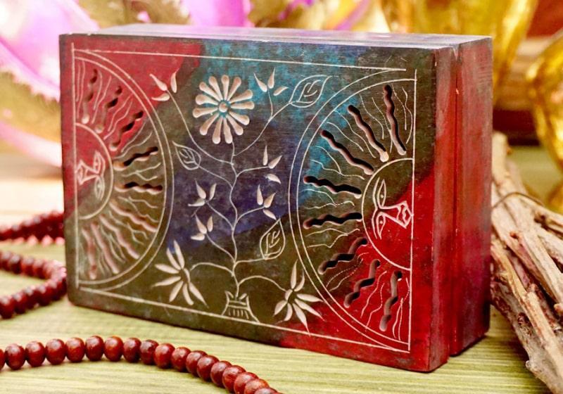 Фото 1 Каменная шкатулка для украшений Два Солнца