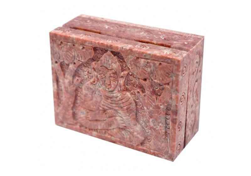 Фото Розовая каменная шкатулка