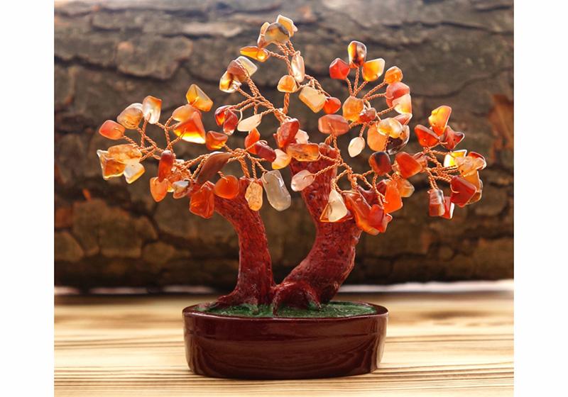 Фото Дерево Счастья Сердолик 11 см
