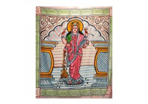 Разноцветное покрывало 245х215 см в этно-стиле Боги