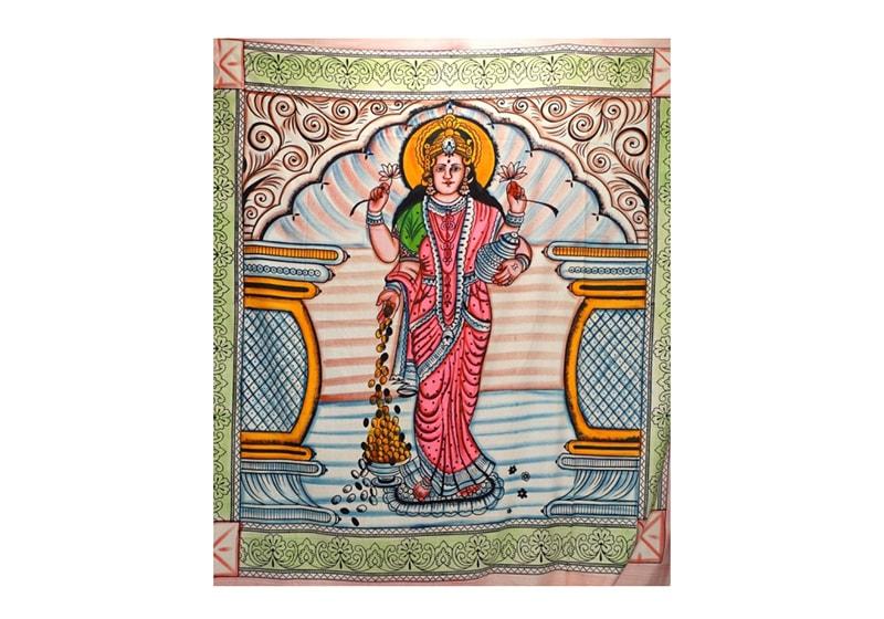 Фото Покрывало цветное Хлопок-100% Боги Лакшми245х215см