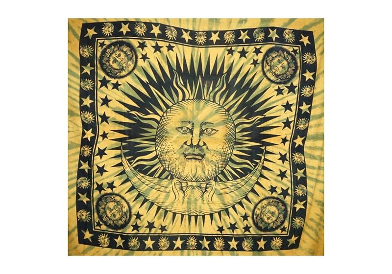 Фото 3 Покрывало 100% Хлопок 210х240 см Солнце+ Луна