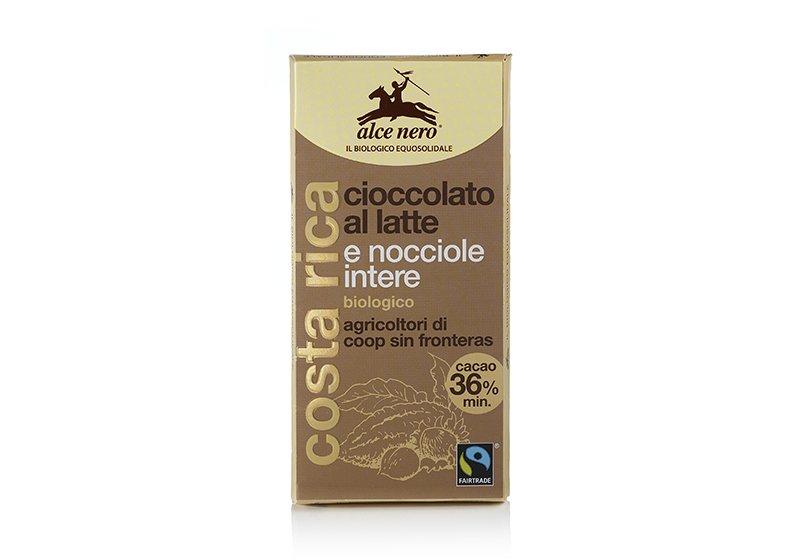 Фото Молочный шоколад с фундуком