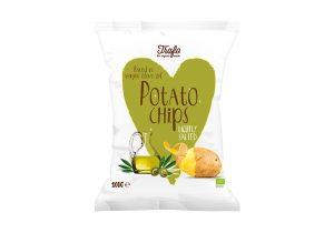 Чипсы картофельные в оливковом масле 125г-min