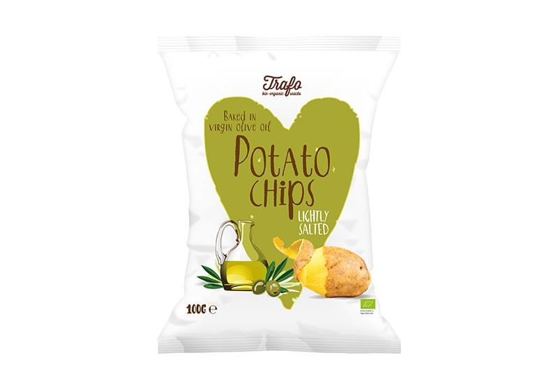 Фото Чипсы картофельные с оливковым маслом 125 г