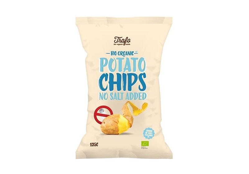 Фото Чипсы картофельные без соли 125 г