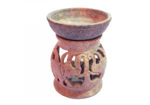 9120071 Аромалампа каменная индийские сувениры оптом