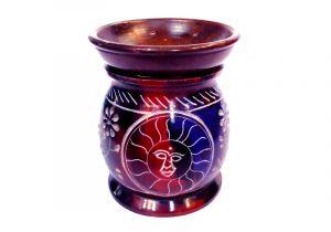 9120172 Аромалампа каменная сувениры из Индии оптом
