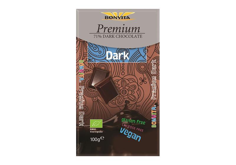 Фото Безглютеновый горький 71% шоколад 100 г