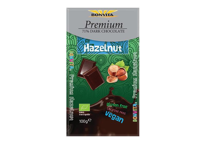 Фото Шоколад молочный с изюмом и фундуком 100 г