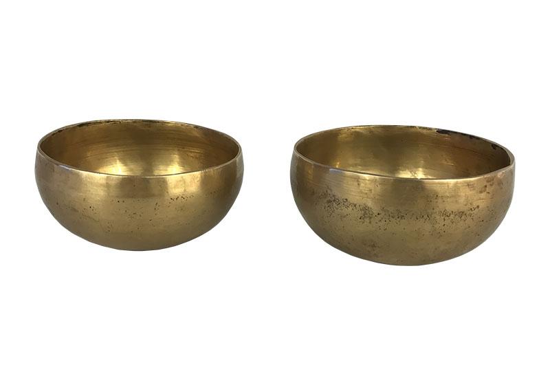 Фото Тибетская поющая чаша, кованая, 11,5 см