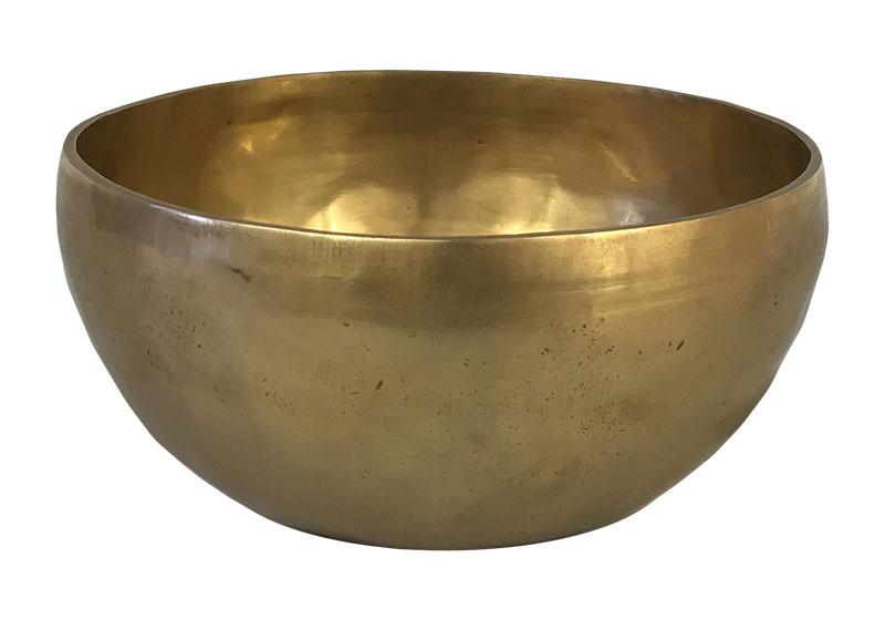 Фото Тибетская поющая чаша, кованая, 18 см