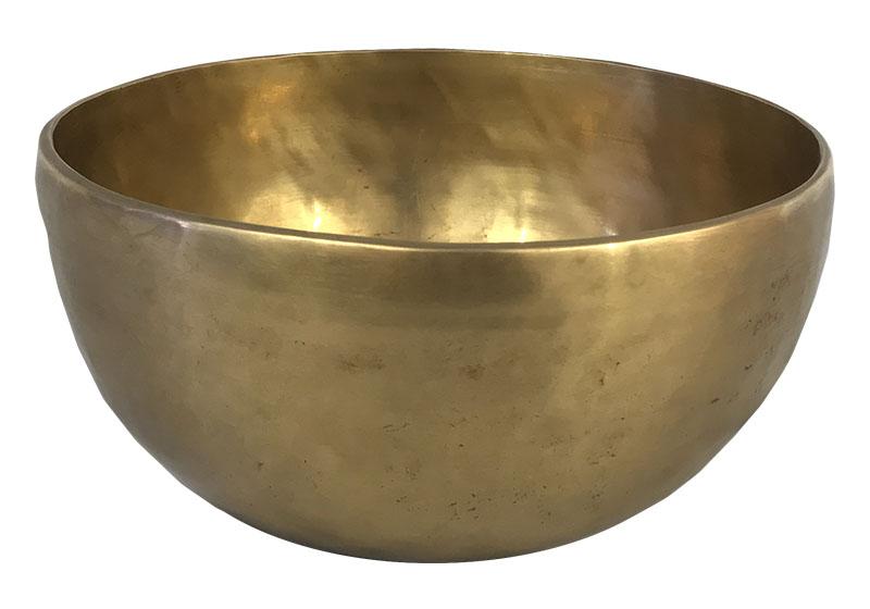 Фото Тибетская поющая чаша, кованая, 13,5 см