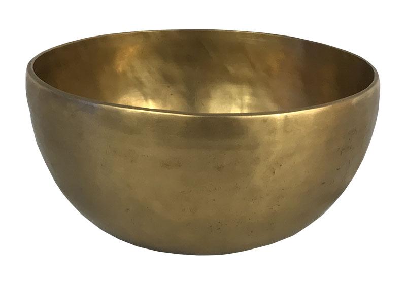 Фото Тибетская поющая чаша, кованая, 16,5 см