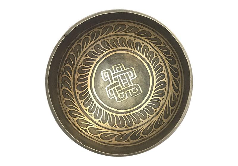 Фото 1 Тибетская поющая кованая чаша 10 см.