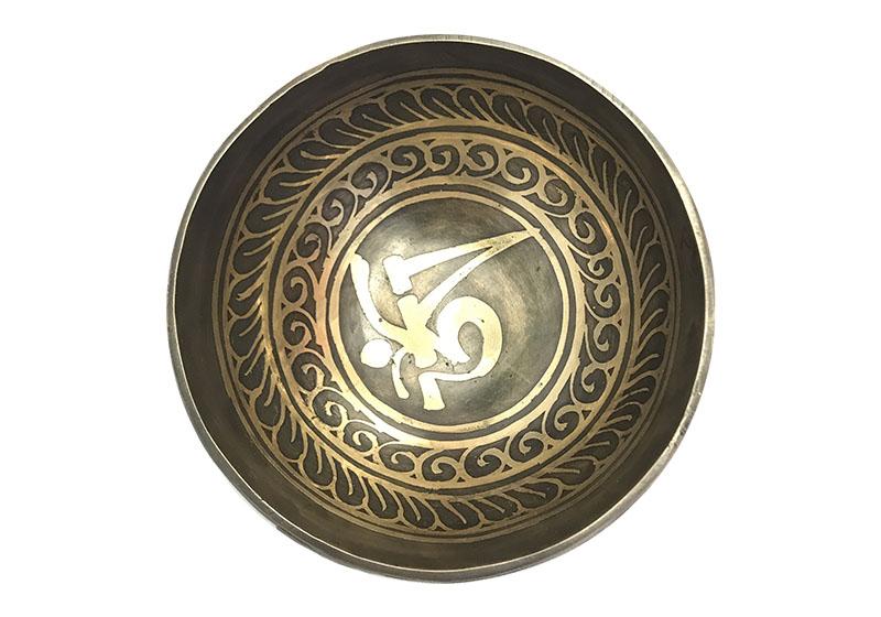 Фото 2 Тибетская поющая чаша, кованая, 10 см